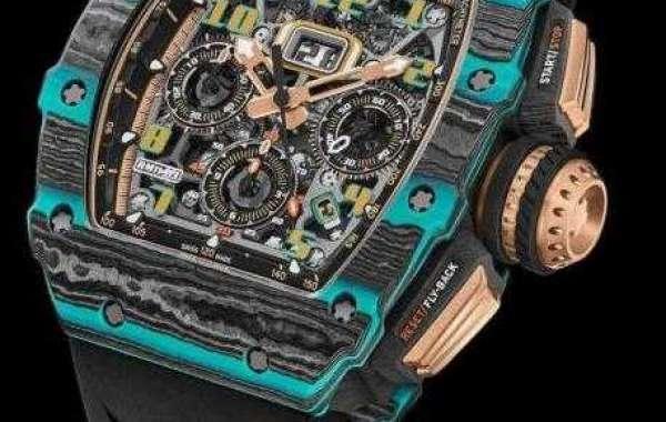 Richard Mille RM 011-RM 011 America 5 (Black Ti) watch