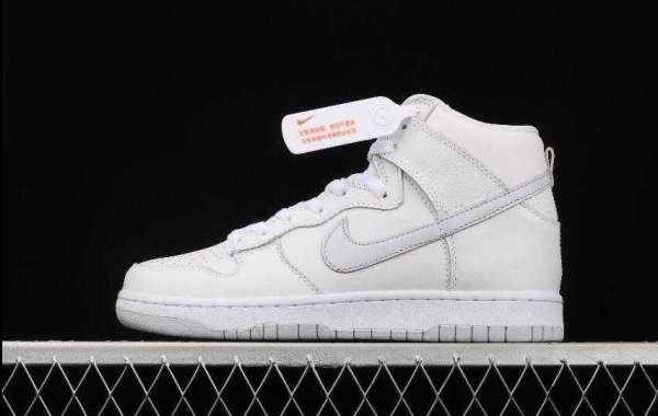 Where to Buy Best Price New Nike SB Dunk High Pro White Grey  ?