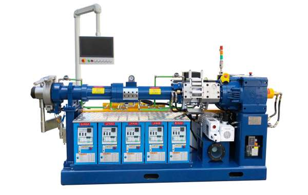 Basic Strcture of Rubber Extruder Machine