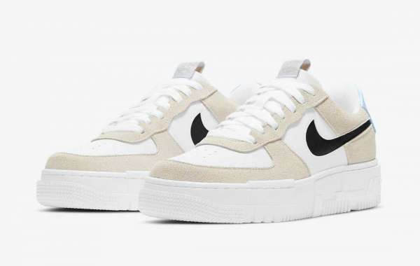 "Best Selling Nike Air Force 1 Pixel ""Desert Sand"" DH3861-001"
