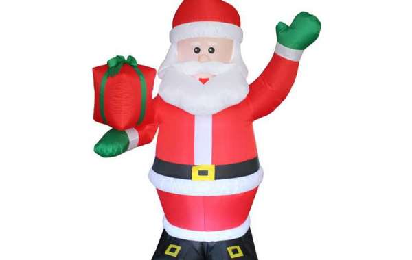 Christmas Inflatable Santa Claus Can Add More Fun To Christmas