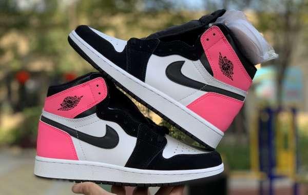 881426-009 Air Jordan 1s OG Valentine's Day Black-Hyper Pink-White