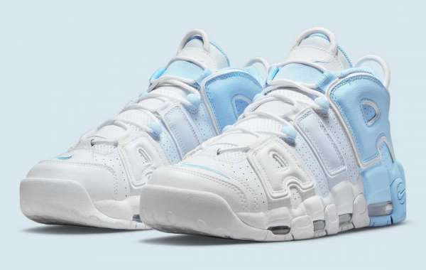 """New 2021 Nike Air More Uptempo """"Sky Blue"""" to release on May 1st"""