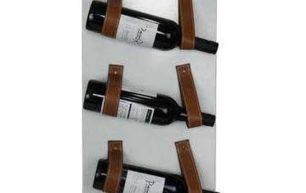 Create exquisite artwork display by using your favorite metal wine holder