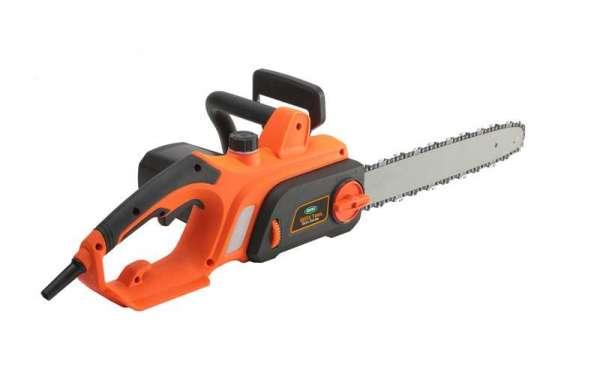 Safe Use Of Custom Chain Saw