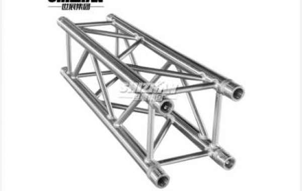 How much does a meter of aluminum stage truss weigh?