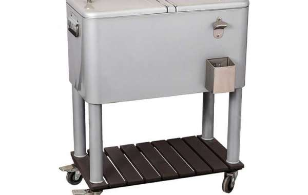 Know Outdoor Patio Cooler Cart Features